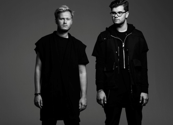 Alexander Bjorklund and Sebastian Furrer from Cazzette Music Duo