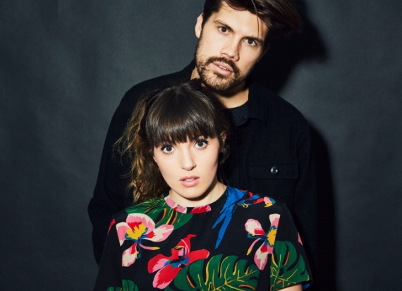 Anthony West and Josephine Vander Gucht from the English Pop-Duo: Oh Wonder